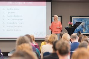 Catherine Watkin speaking at Selling from the Heart Live