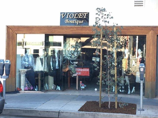 Violet's Boutique in Laguna Beach, California