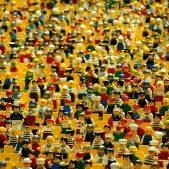 Lego Crowd Image